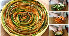 The spiral vegetable tart you need to make right now