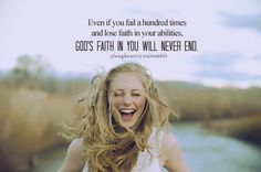 God is faithful even when we're not