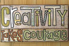 Art Quote by Henri Matisse, artist GreenGirl
