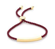 Linear Friendship Bracelet   Monica Vinader