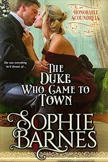 The Reading Wench: Review of The Duke Who Came To Town by Sophie Barn...
