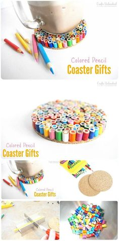50 Easy Crafts Ideas To Make And Sell DIY Coaster Gifts:I have presented a huge list of 50 easy crafts Ideas to make and sell which will go cost-effective, easy and less-time consuming. Upcycled Crafts, Easy Diy Crafts, Diy Crafts To Sell, Selling Crafts, Diy Projects To Sell, Crafts For Teens To Make, Arts And Crafts Projects, Kids Crafts, Kids Diy