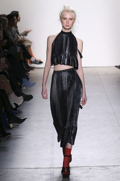 See the complete Adam Selman Fall 2017 Ready-to-Wear collection.