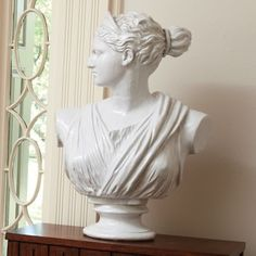 Global Views - Bust of Diana Statue Decorative Objects, Decorative Accessories, Chandeliers, Bliss Home And Design, Greek Statues, Luxury Lighting, Luxury Home Decor, Inspirational Gifts, Decoration