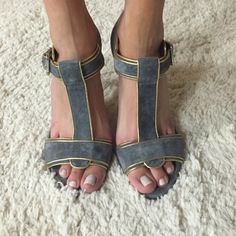 Dolce & Gabbana Shoes - Grey DG heels