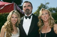 Tom Selleck with daughter Hannah and wife Jillie Mack.