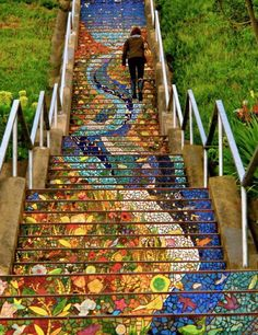 The 16th Avenue Tiled Steps Project, San Francisco