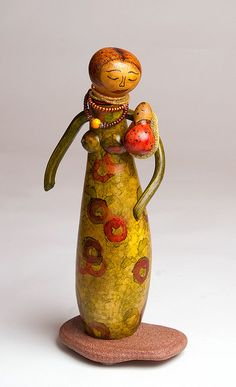 Dame Nature enfant series by France Benoit Gourd artist