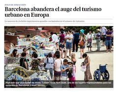 Barcelona abandera el auge del turismo urbano en Europa / @LaVanguardia | #socialcities #socialtravel