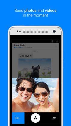 với facebook messenger bạn thoải mái gửi ảnh