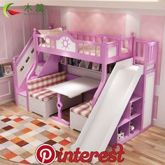 Mary's favourite room Kids Bedroom Designs, Room Ideas Bedroom, Kids Room Design, Bedroom Decor, Bed For Girls Room, Little Girl Rooms, Girls Bedroom, Dream Rooms, Dream Bedroom