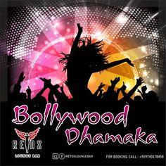 Dance to upbeat Bollywood music  @retoxloungebar 7pm onwards.
