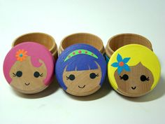 Cute painted trinket box from Pegged Etsy shop, my daughter would love these.