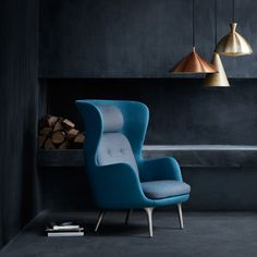 Ro armchair by Jaime Hayón for Republic of Fritz Hansen, in my fave colour too!