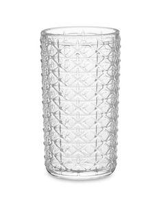 I love the Lattice Highball Glasses, Set of 4 on Williams-Sonoma.com$35.99 sale!!