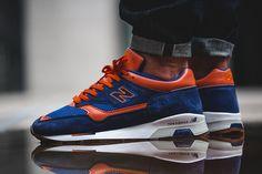 New Balance présente sa nouvelle 1500 Blue/Orange  #NB #NewBalance #sneakers