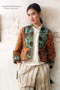 Batik Amarillis made in Indonesia proudly presents :Batik Amarillis's Arcana jacket #3