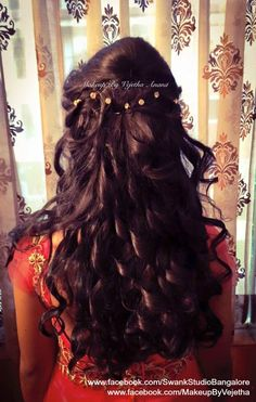 5 Charming Hairstyles For Indian Wedding Reception You Will Not Miss Either Guest Or The Bride Hairstyle Is Just Like Their Overall Earance