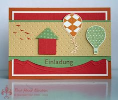 Stampin' UP! Up up and Away by First Hand Emotion