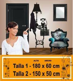 Vinilos decorativos percheros verticales-4289