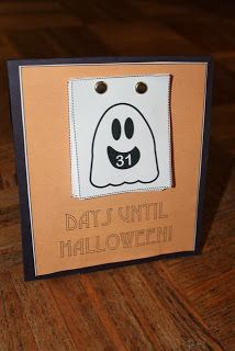 2 FREE printable Halloween Countdown Calendars