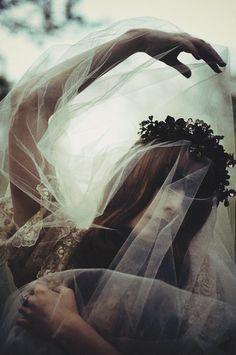 La Mort d'Albine - Louise Ebel photographed by Sachie Nagasawa.