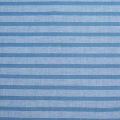 From the upstanding fashion label Theory, Mood presents a lovely light-weight linen consisting of horizontal parisian blue stripes. Completely crisp and very opaque, this material would make for fabulous Spring and Summer shirts, shorts, and light-weight jackets. With no need for a lining, the comfortability level of this linen is on par with cotton poplins. Note: This linen woven weighs in at 5.40 oz/yd.