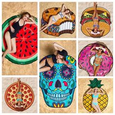 ✨ NEW ARRIVAL!✨ We've got you covered for summer! Our On the Sand beach blankets are lightweight and perfect for providing you comfort while you're laying out on the beach. Available styles: Donut, Burger, Ice Cream Sandwich, Pineapple, Pizza, Skull, Watermelon. Approximately 60 inches in diameter. www.thelagunaroom.com #thelagunaroom #lovetlr #shoptlr #beautiful #likesforlikes #l4l #f4f #r4r #fashion #fashionista #instalike #followforfollow #outfitoftheday #outfitinspiration #outfits…