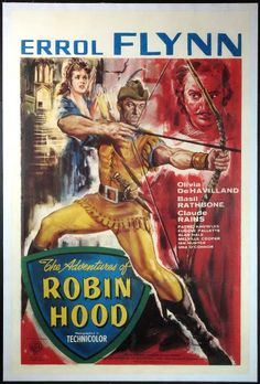 Adventures Of Robin Hood, The Movie Posters Original and Vintage