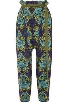 M MISSONI Cotton-Blend Jacquard Straight-Leg Pants. #mmissoni #cloth #pants