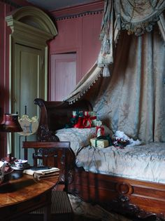 """Christmas at the Dennis Severs' house in Spitalfields, London. The house is a time capsule of 18th and 19th century London life and was once described by David Hockney as """"one of the world's greatest works of opera""""."""