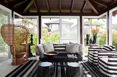 Sunny Side In: Sunroom Design Trends and Tips - http://freshome.com/sunroom-design-trends-tips/