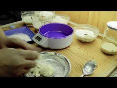 Kovász készítése Eszterrel. Felezés, etetés és üvegbe helyezés... -- 3 -- - YouTube Youtube