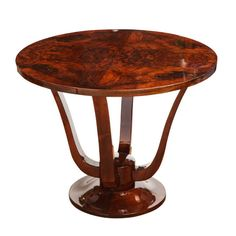"""Superb Art Deco """"Tulip"""" Gueridon 
