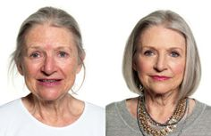 "Bobbi Brown's tips for older women's make-up. (Rule #1: Never wear ""sparkly""!)"