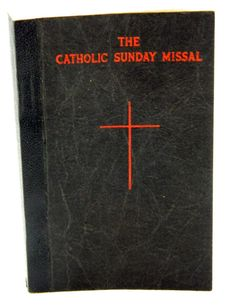 The Catholic Sunday Missal Missale Romanum by QueeniesCollectibles, $24.99