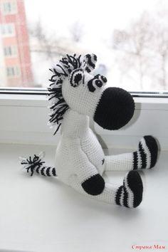 Abbreviations: CA-ring amigurumi VP - air loop PS - Crochet Zebra, Crochet Horse, Knit Or Crochet, Crochet For Kids, Crochet Crafts, Crochet Amigurumi, Amigurumi Patterns, Crochet Dolls, Crochet Patterns