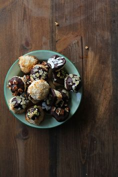 Chocolate Dipped Coconut Macaroons - easy, healthy, gluten free, and almost paleo!
