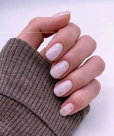 Semi-permanent varnish, false nails, patches: which manicure to choose? - My Nails Fake Gel Nails, Shellac Nail Art, Oval Nails, Nail Manicure, Classy Nails, Cute Nails, Minx Nails, Minimalist Nails, Neutral Nails