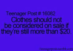 Literally i went to justice on Black Friday and only like 3 racks were on sale and it was the UGLY clothes.