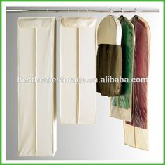 Natural Cotton Garment Bags Actually For The Closet