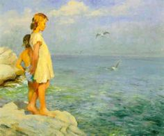 The Open Sea, Adam Emory Albright (1862 – 1957)