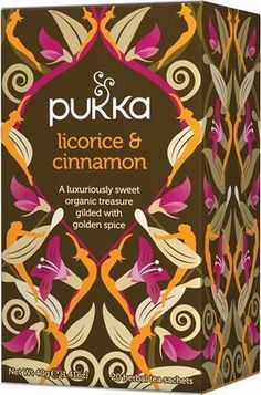 Pukka Organic Licorice and Cinnamon Tea