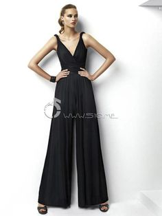 One Piece Fashionable and Stylish Jumpsuit Evening Dress - 510.me
