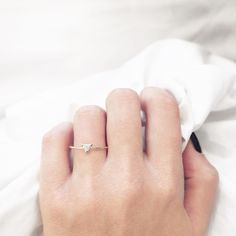 """""""Refinery29 thinks our Trillion Diamond Ring is the perfect engagement ring for the alternative bride. [I] definitely agree."""""""