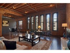 loft living room#northmaingreenvilleschomes #downtowngreenvilleschomes