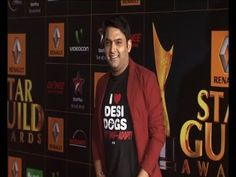 Kapil Sharma @ STAR GUILD AWARDS 2014.