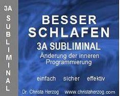 Besser Schlafen 3A Subliminal | Ziele Stress, Sleep Better, Falling Asleep, Thoughts, Deutsch