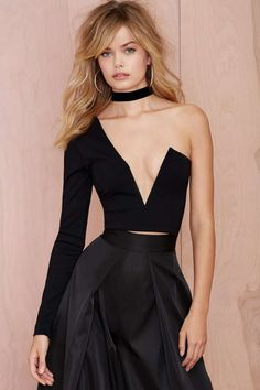 Nasty Gal One Love Crop Top | Shop Tops at Nasty Gal