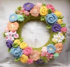 115 Beste Afbeeldingen Van Kransen Haken In 2019 Crochet Wreath